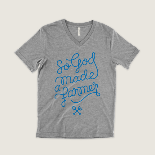#12 So God Made a Farmer $24