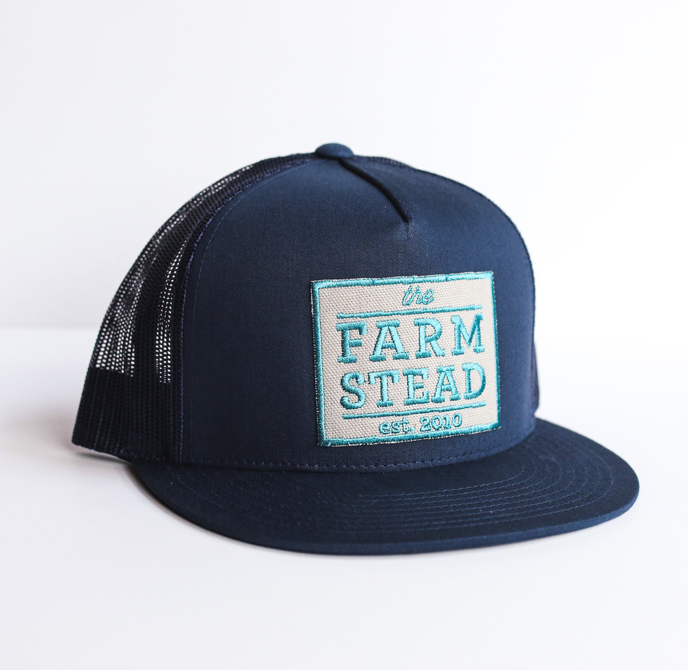 #10 Farmstead Snapback (Blue) $24
