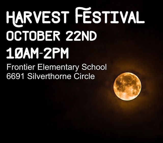 We'll be out next on October 22nd at Frontier Elementary for their Harvest Festival. 🎃🍬🍭