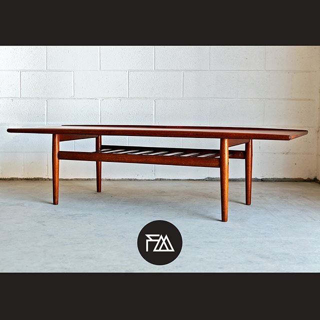 Now available at FM is the amazing Danish coffee table in good vintage condition.  or more information and pricing please visit our website (link in bio) or swipe up on our story. Shipping available.