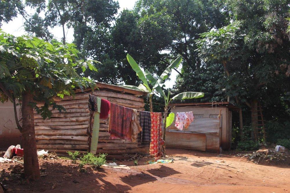 Village walk in Jinja