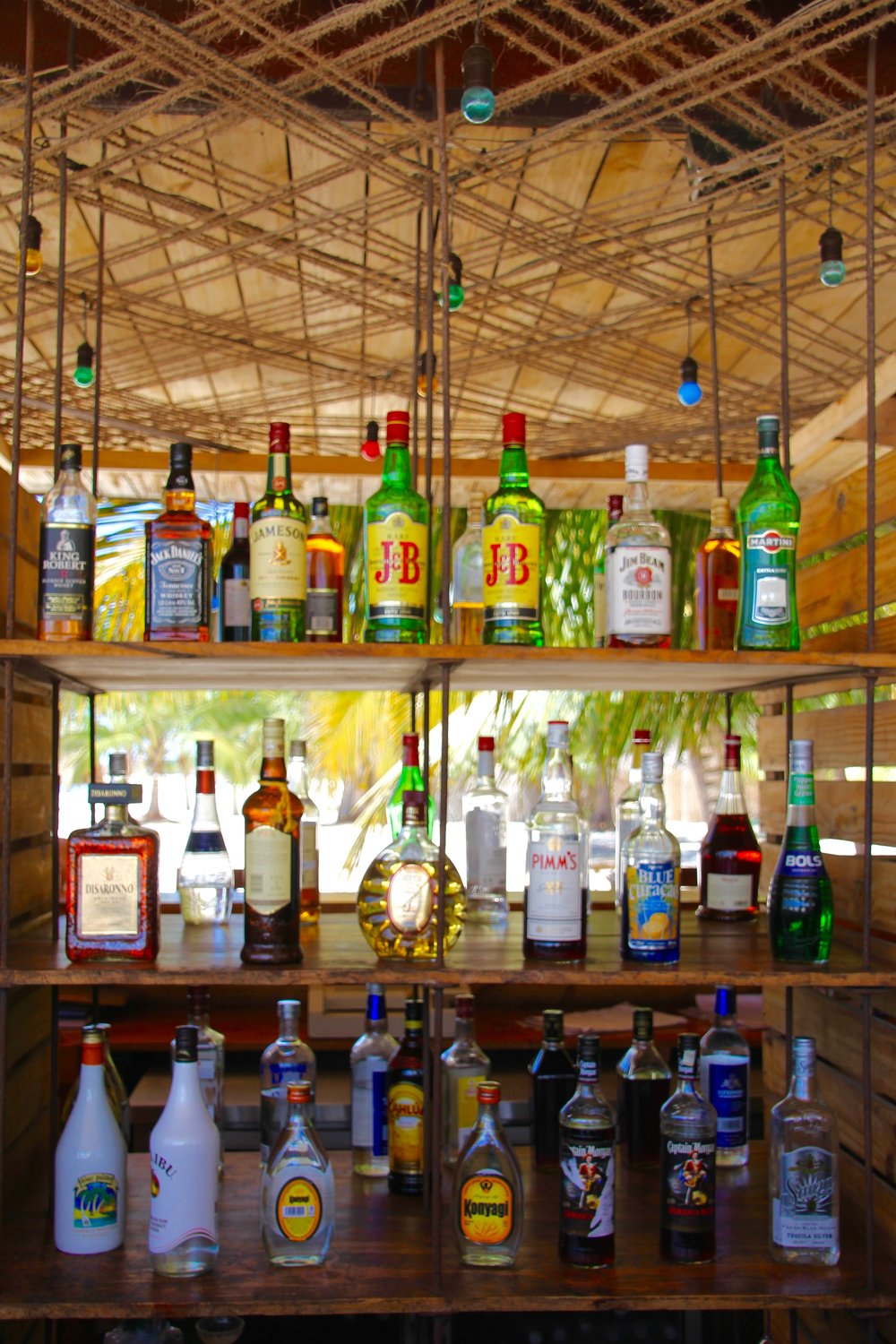 The bar at Sunset Kendwa