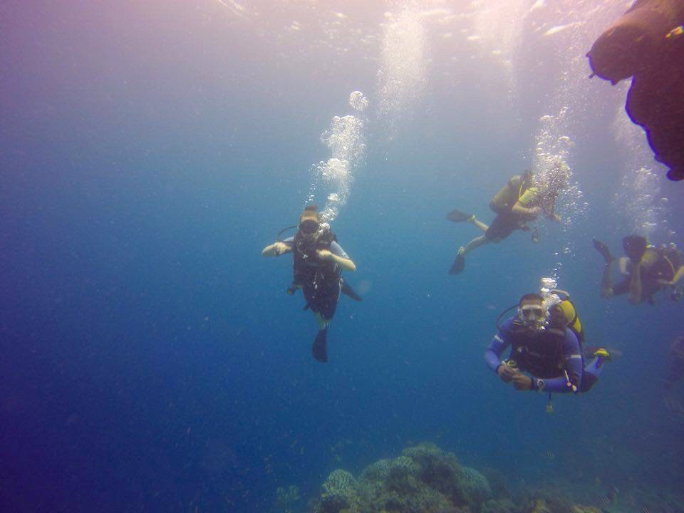 My first Scuba Dive