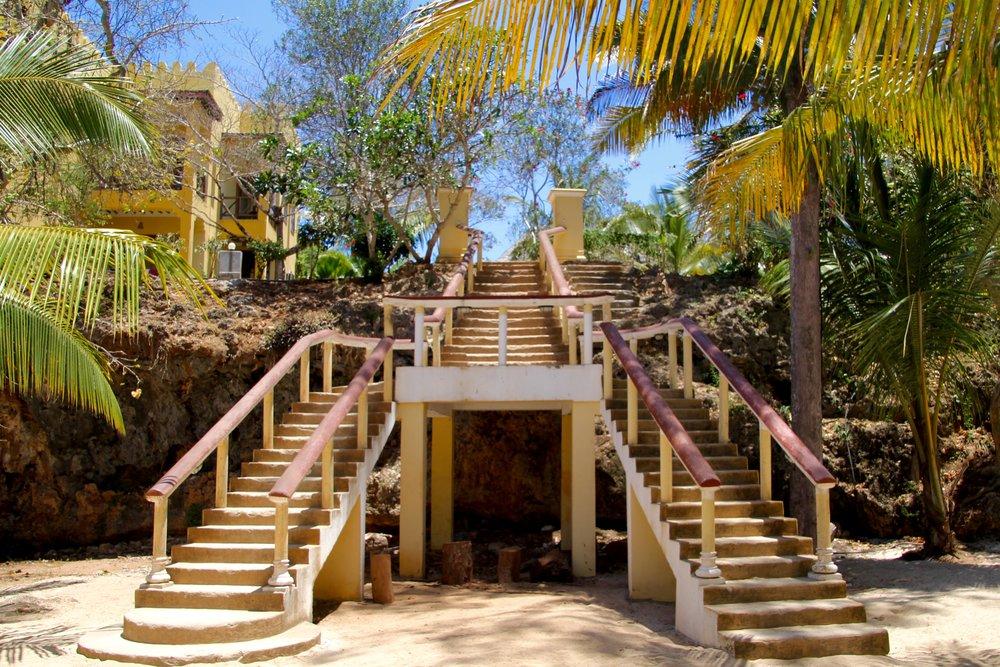 Sunset Kendwa Stairs Zanzibar