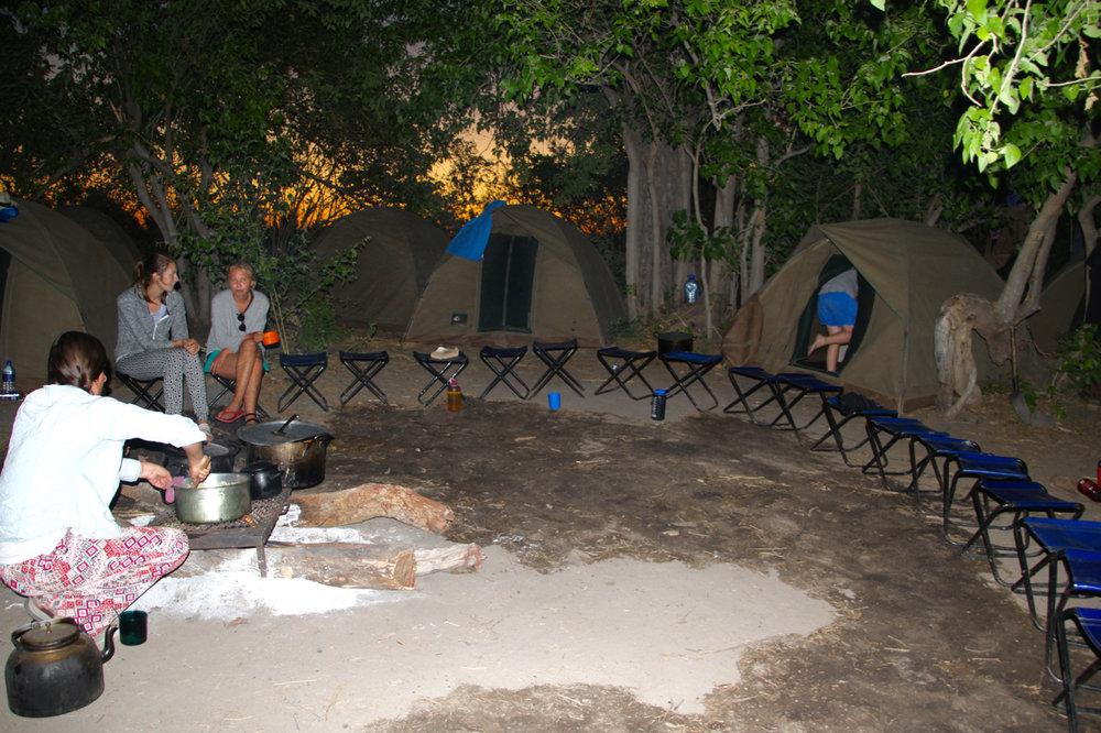 Okavango Delta Campsite