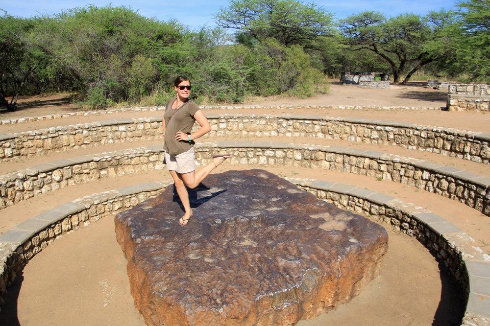 Namibia Meteor