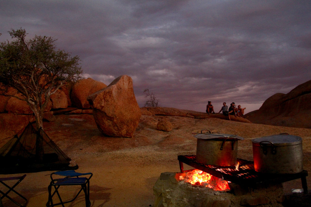 Spitzkoppe Campfire