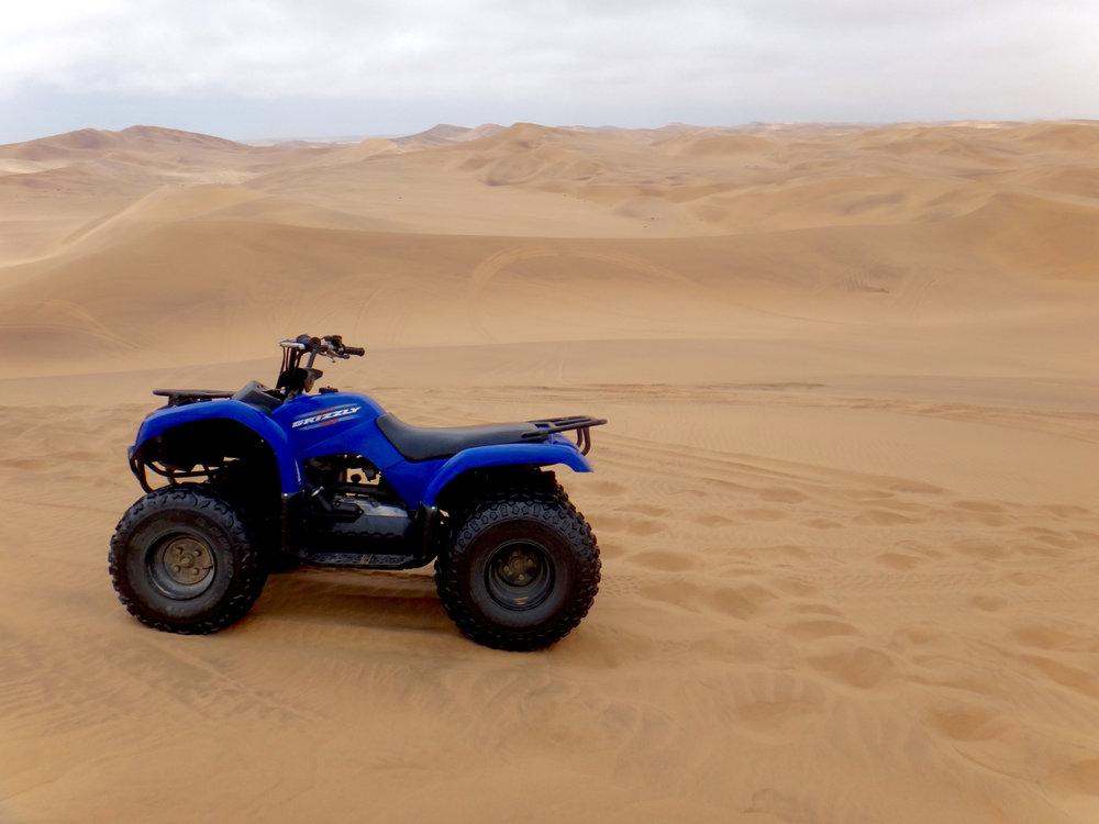sand dune buggy