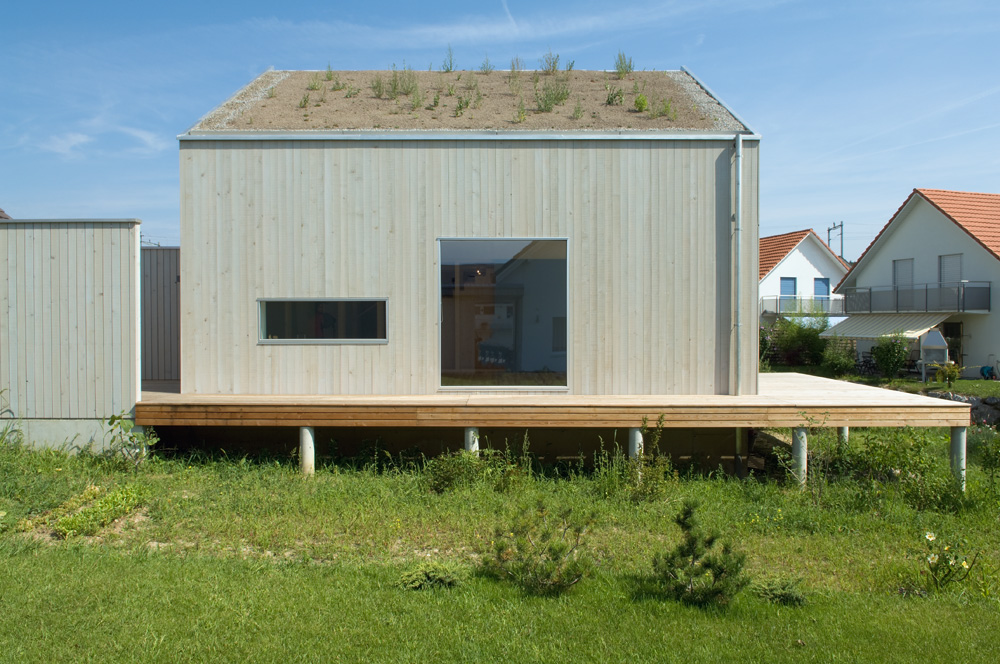 Holzhaus Architektur einfamilienhaus ossingen reto brawand zürich