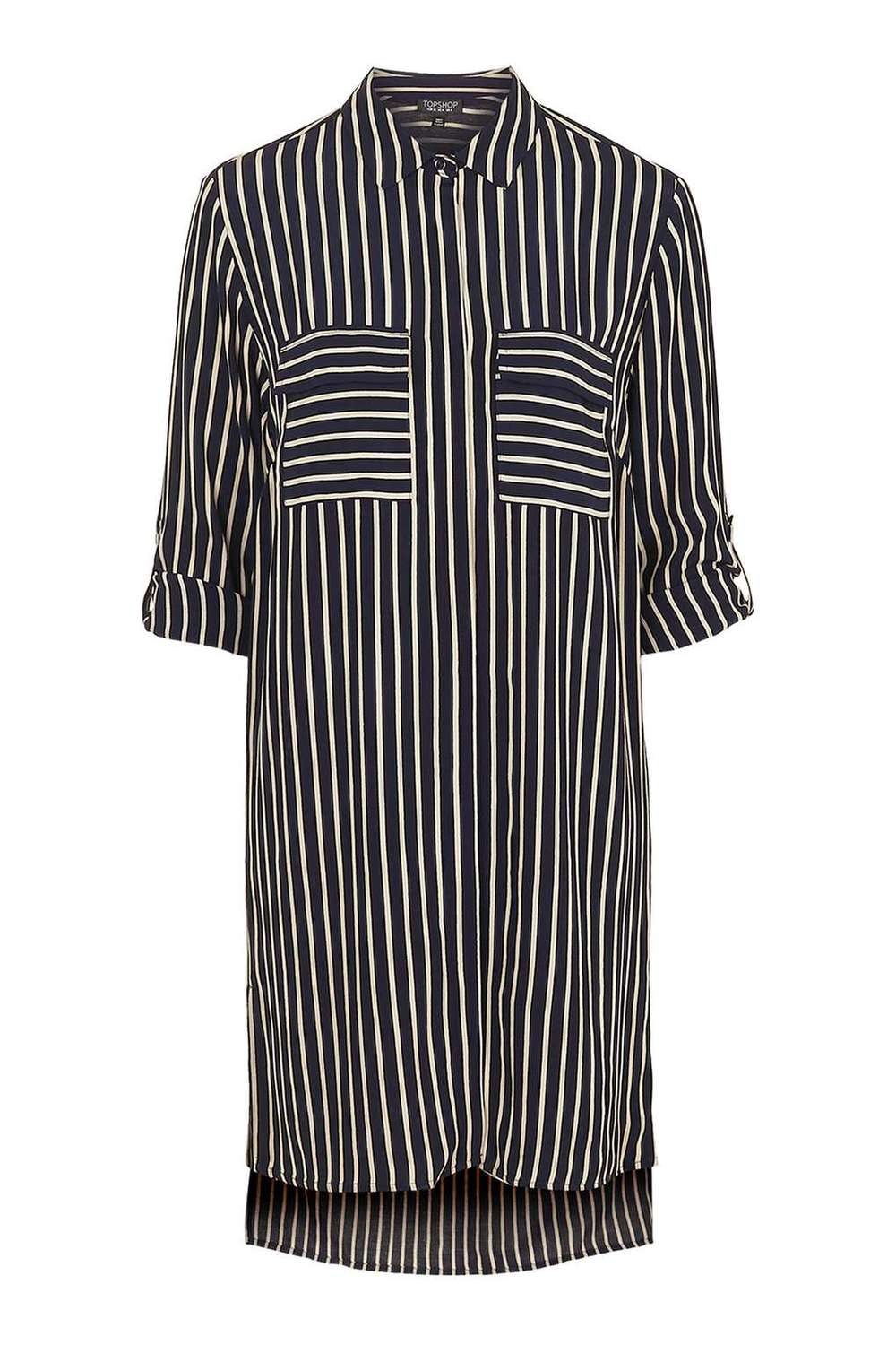 Oversized striped shirt dress- Topshop £20 (SALE GO!)