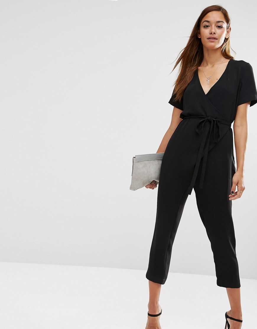 ASOS Jumpsuit With Wrap And Self Tie £50.00