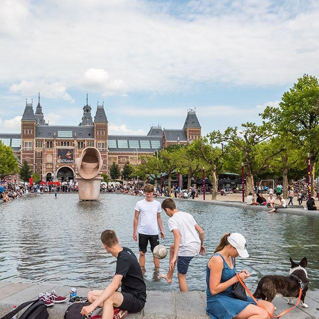 #rijksmuseum #amsterdam #architecturephotography #architecturelovers #travelphotography #streetphotography