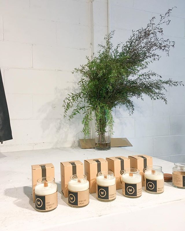 Aacute candles are now at all the @niqueclothing stores. We are restocking very soon, get yours before some scents run out again! #candles #melbournemade #australiandesign #woodwickcandles #soycandles #aacutecandles #aacutecandle