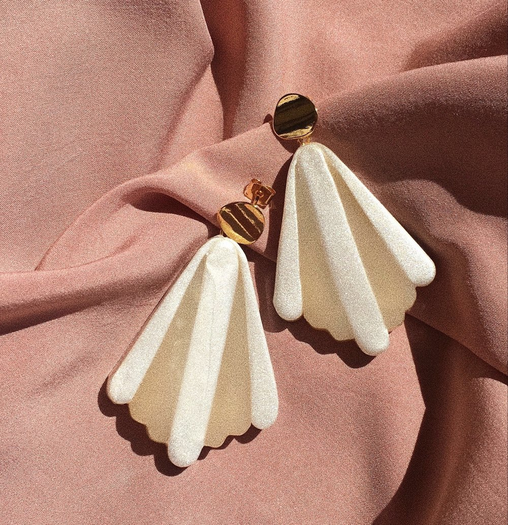 The Curve Deco Earrings