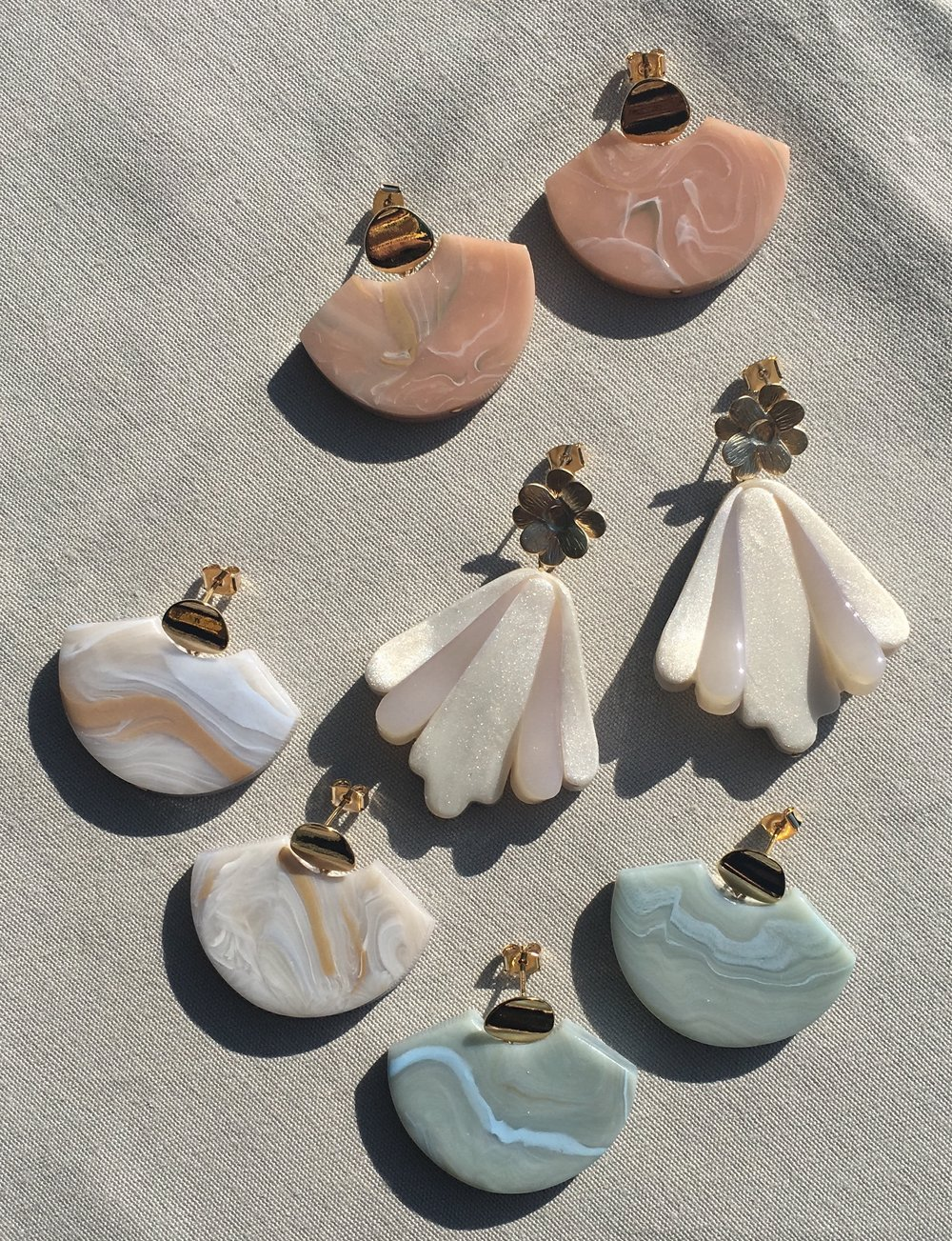 View the featured Jewels - Element and Flower Art Earrings