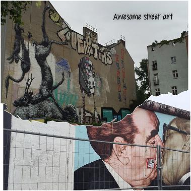 Street Art at East Side Gallery