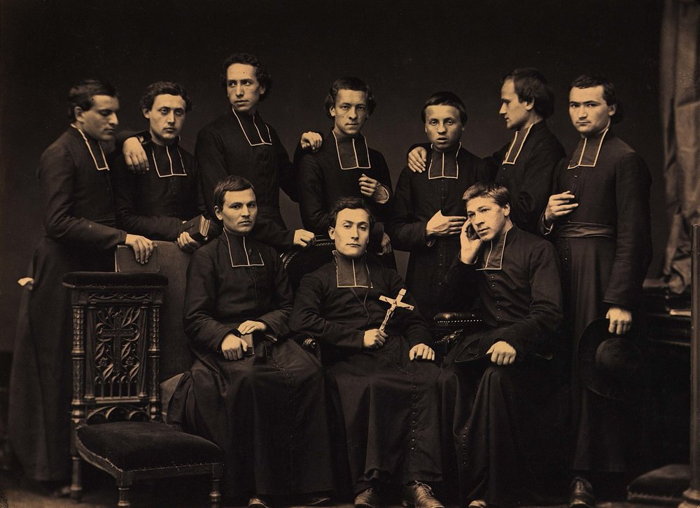 1864년 파리 외방전교회 신부들. (파리 외방전교회 소장)