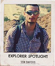 Tim Davies British Exploring Society Explorer Spotlight