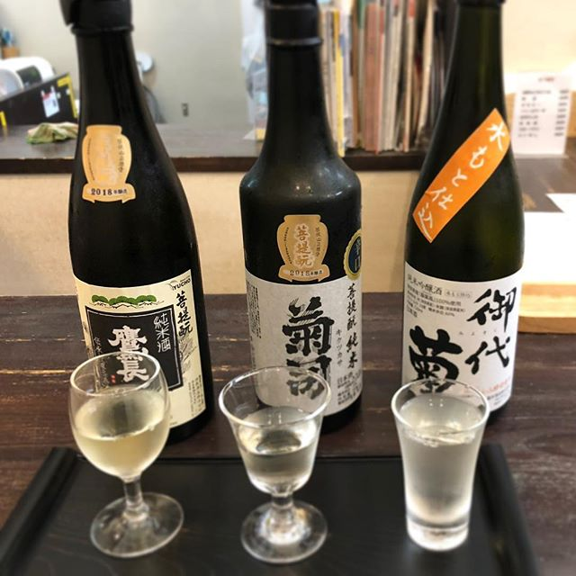 My favorite sake from Nara is bodaimoto(old style sake making method without cooking rice) from Yucho brewery in Gose. Another one is from Yoshino, with a scent of wooden barrel, which I gave to my father. I'm taking bodaimoto back to LA! This sake tasting shop is really amazing. They really gave you good recommendation if you know what you want! Coming back with my Spring tour group for sure. #foodstorytour #Spring2019 #nara