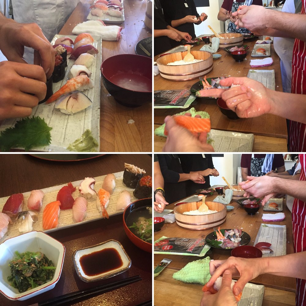 Nigiri Sushi: Learn from the PRO - See what it takes to be a professional sushi chef. Get your hands ready to grab the rice and make your own sushi by hand.Book Online