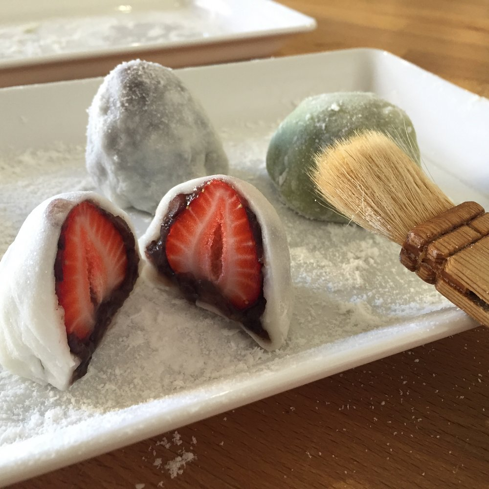 Japanese Sweets: Mochi Making -