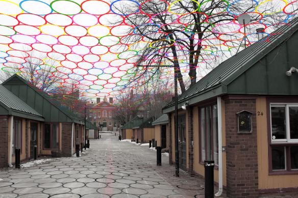 "Artist installation of ""Hula"""