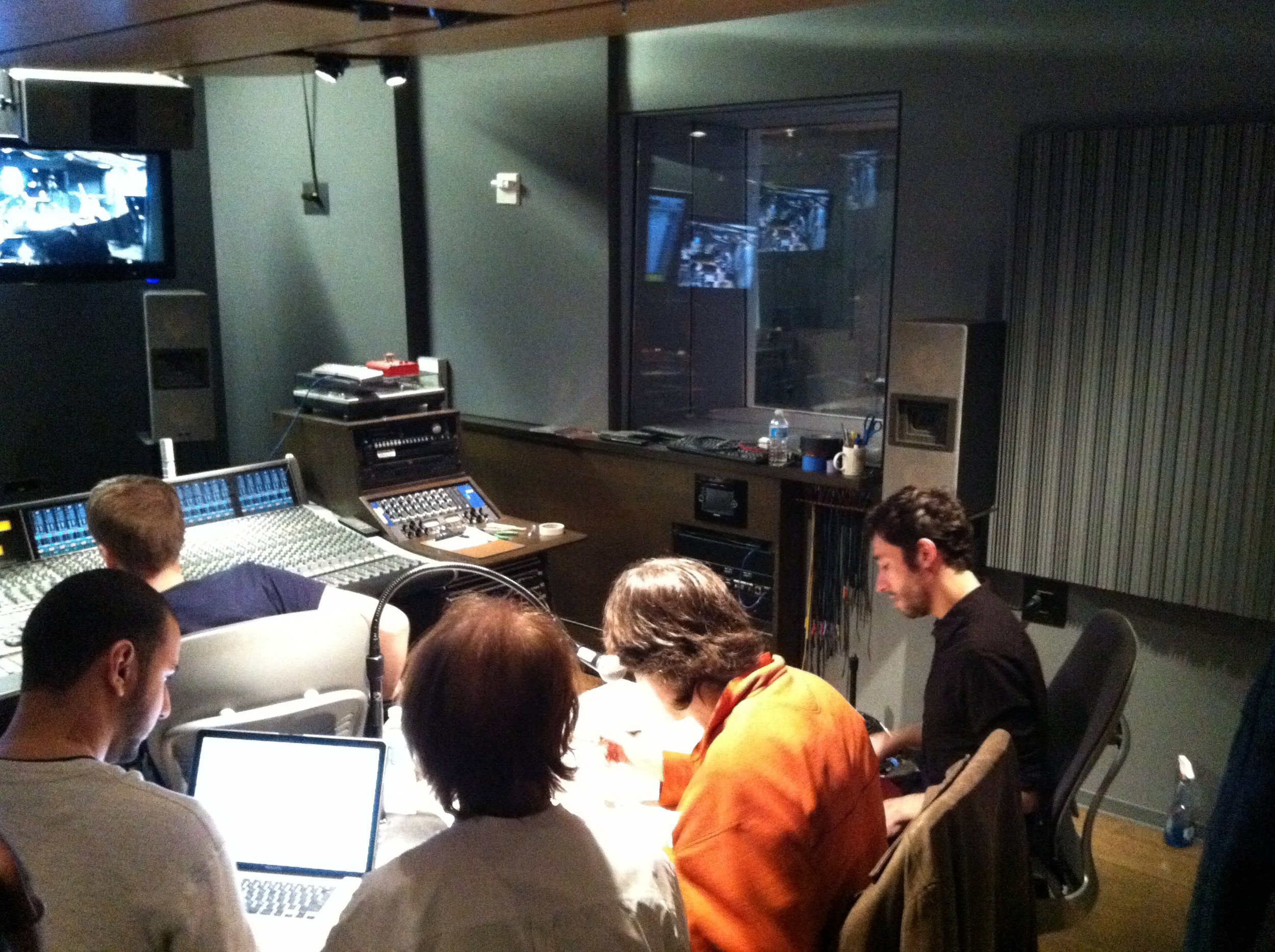 Film Scoring Session @ Dolan Recording Studios