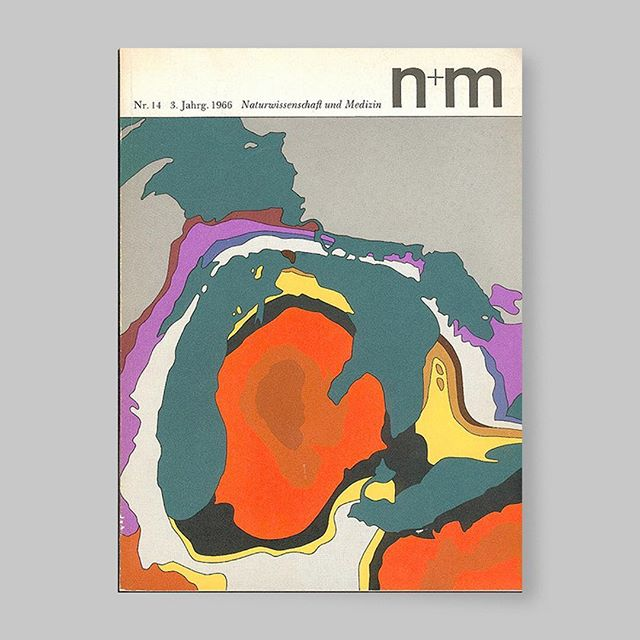 Amazing work by Erwin Poell, a german graphic designer, for a german scientific newspaper. Data, histology and abstraction mixed in a colourful, punchy and somewhat  psychelic way. These were designed between 1965 and 1972.
