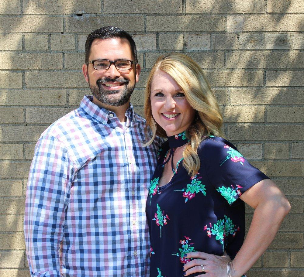 Keith and Emily Bruner - Senior Pastor
