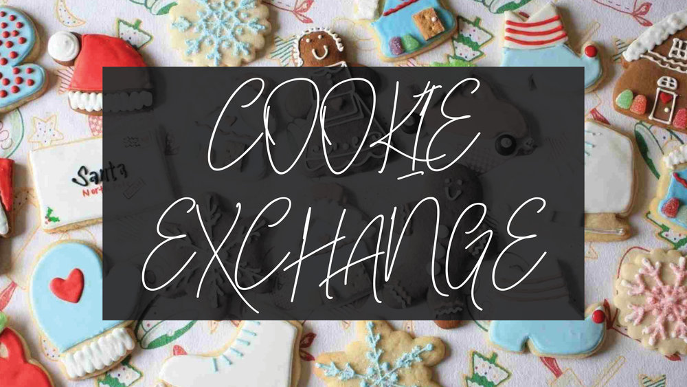 'Tis the season! - Mark your calendar for December 8th from 1-3 pm at GLC for a hot cocoa bar and cookies to share. Please also bring 11 dozen of your favorite cookies with each individual dozen wrapped separately.