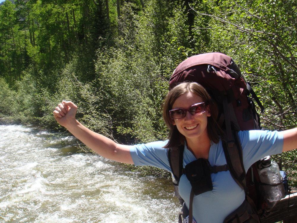 Backpacking trip to train for Kili