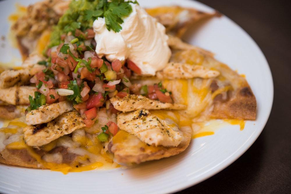 Fajita, Chicken, or Cheese Fiesta Nachos