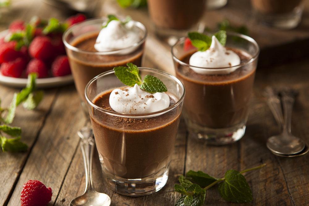 Vanilla & Chocolate Mousse