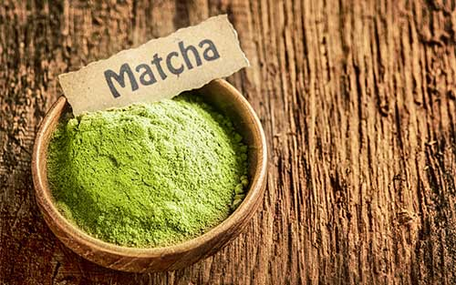 Matcha powder  matcha is known to boost memory, detox the body, increase memory, fortify the immune system, and more
