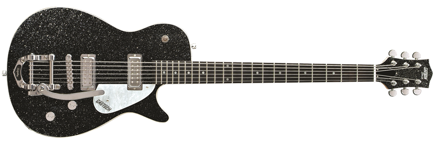 G5265 Electromatic® Jet Baritone with Bigsby®, Rosewood Fingerboard, Black Sparkle