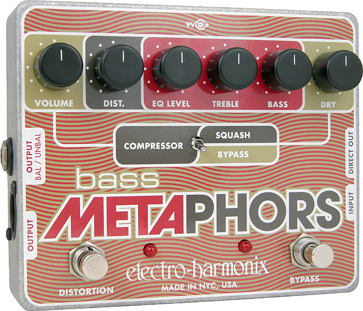 Bass Metaphors Preamp/EQ/Distortion/Compressor/DI Multi-Effect