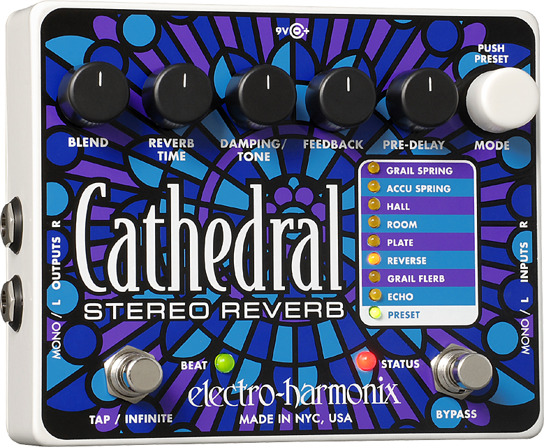 The Cathedral Stereo Reverb
