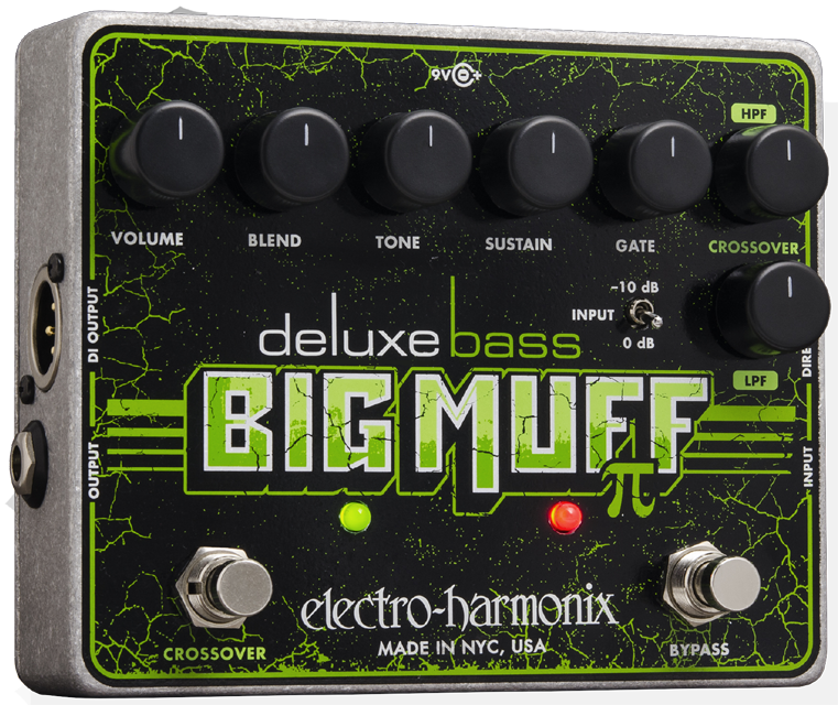 Deluxe Bass Big Muff Pi Distortion/Sustainer