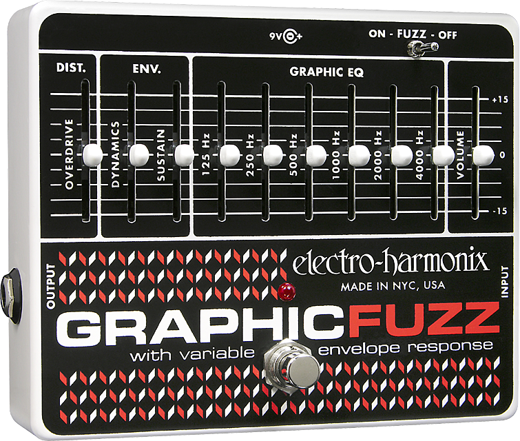 Graphic Fuzz EQ/Distortion/Sustainer