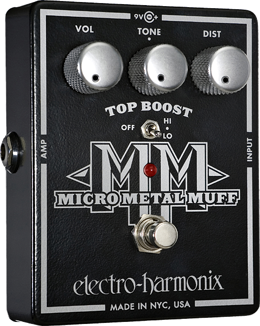 Micro Metal Muff Distortion with Top Boost