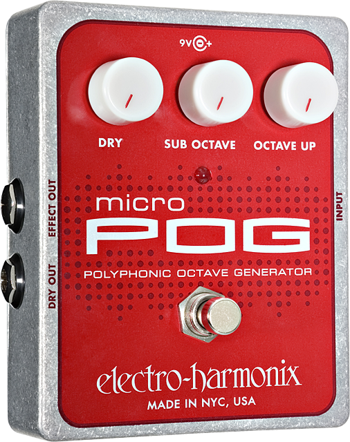 Micro POG Polyphonic Octave Generator