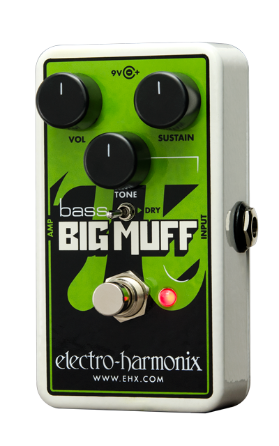 Nano Bass Big Muff Pi Distortion/Sustainer for bass