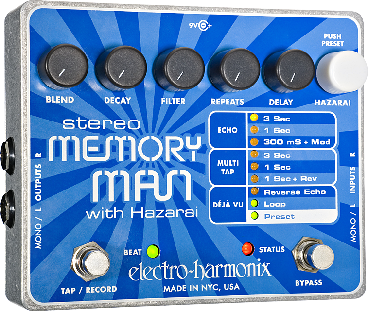 Stereo Memory Man with Hazarai Digital Delay/Looper