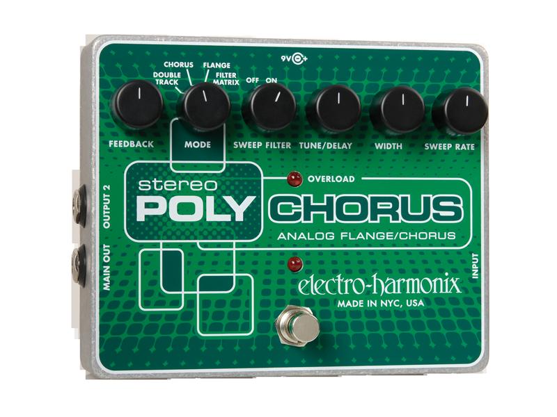 Stereo Polychorus Analog Chorus/Flanger/Slapback Echo