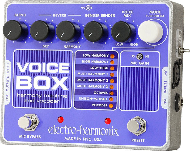 Voice Box Vocal Harmony Machine/Vocoder