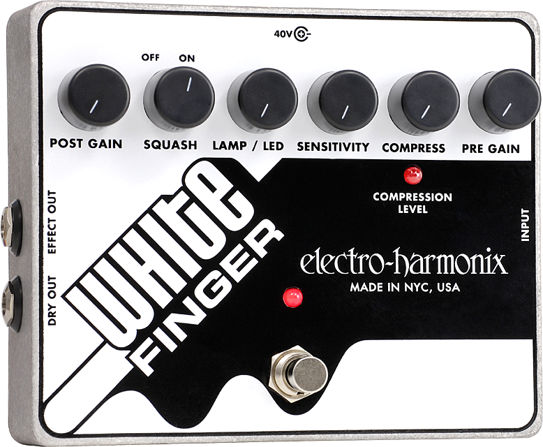 White Finger Analog Optical Compressor