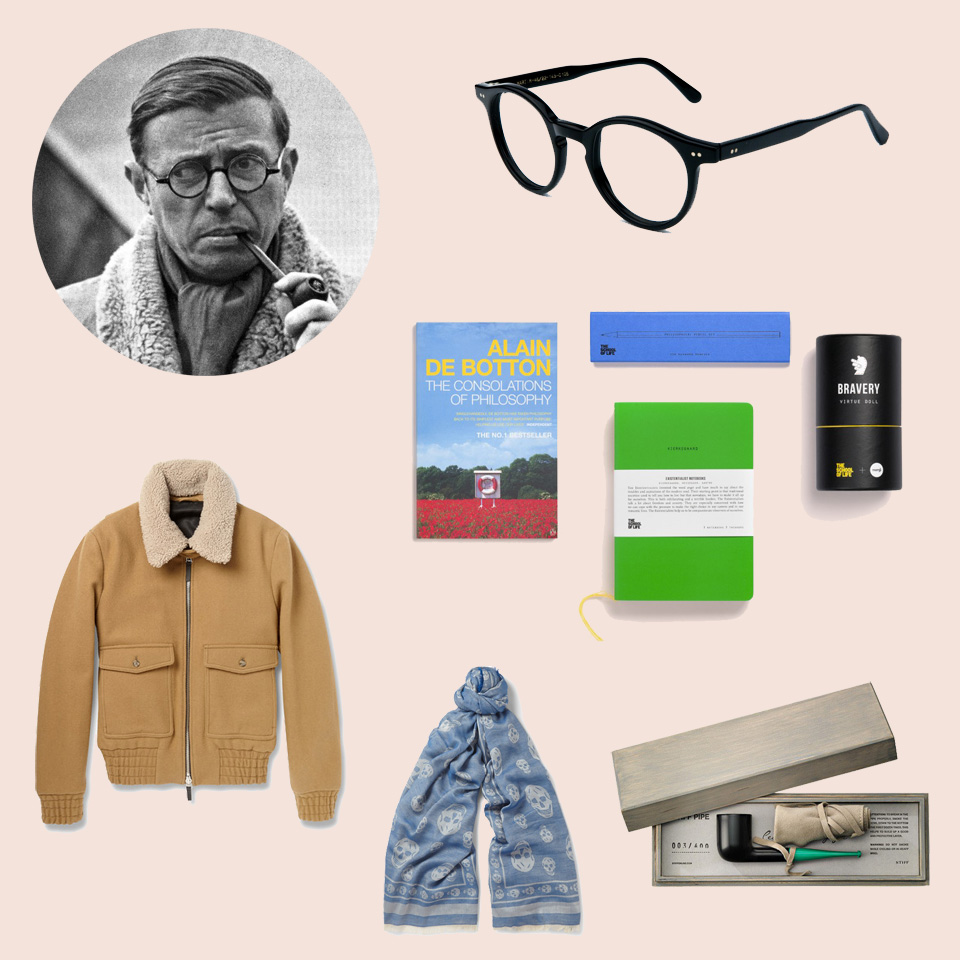 Shopping: Inpiration Jean-Paul Sartre