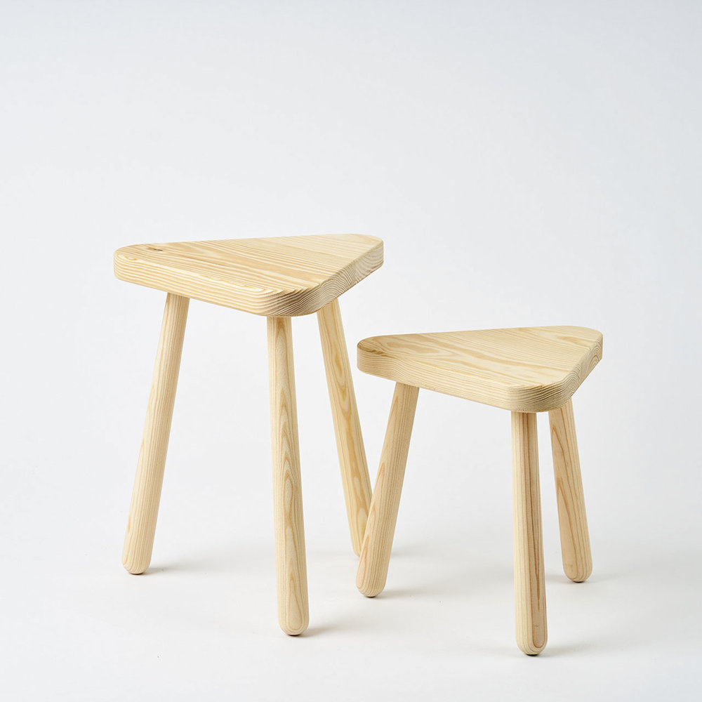 Munge Stool by Ghome