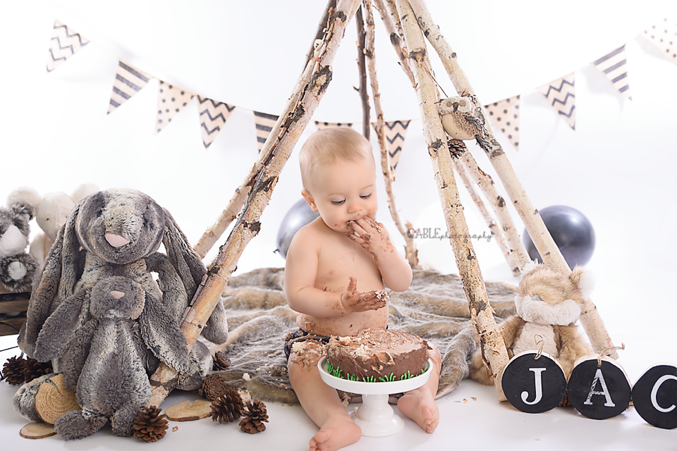 Columbus, Ohio Baby Photographer - studio