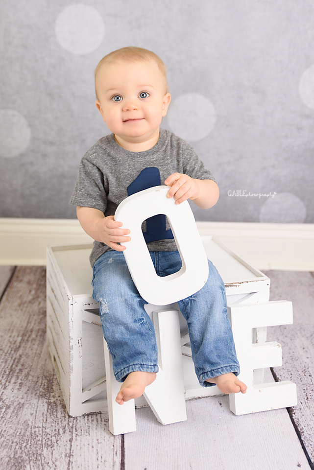 One Year Baby Photography - Columbus, Ohio
